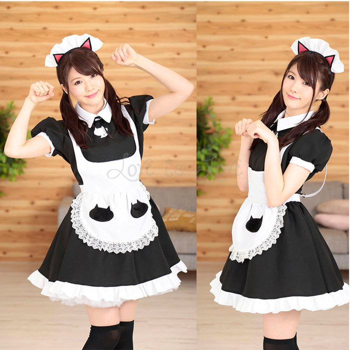 Japan A&T Cat Maid Uniform M Size