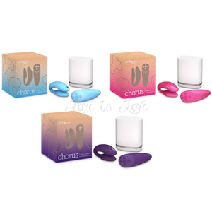 We-Vibe Chorus Cosmic Pink or Purple or Blue buy in Singapore LoveisLove U4ria
