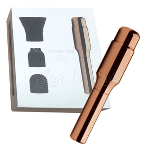 Crave Pocket Vibe USB Rechargeable Rose Gold Award-Winning & Famous - Crave Crave