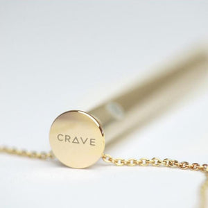 Crave Vesper Vibrator Necklace in Silver or Rose Gold or 24 K Gold Award-Winning & Famous - Crave Crave