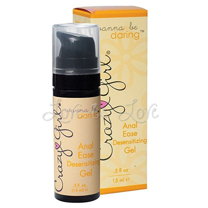 Crazy Girl Wanna Be Daring Anal Ease Desensitizing Gel 15ML 0.5 FL OZ