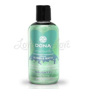 Dona Pamper Me Pretty Bubble Bath Naughty Sinful Spring 240 ml (8 fl oz) (With Aphrodisiac And Pheromone Infused) For Us - Bathtime Fun Dona by JO