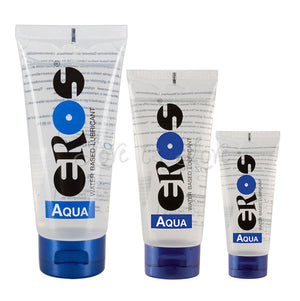 Eros Aqua Water Based Lubricant Lubes & Toy Cleaners - Water Based EROS