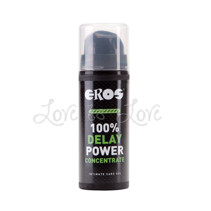Eros Delay Power Concentrate Gel 30 ml (1.02 fl oz)  (Newly Replenished - Expiry Year 2022)