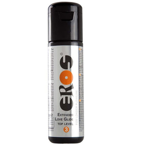 Eros Extended Love Glide Top Level 3 Lubricant 100 ml (3.4 fl oz) Lubes & Toy Cleaners - Water Based EROS