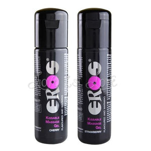 Eros Warming Kissable Massage Gel 100 ml (3.4 fl oz) Lubes & Toy Cleaners - Flavoured Lubes EROS