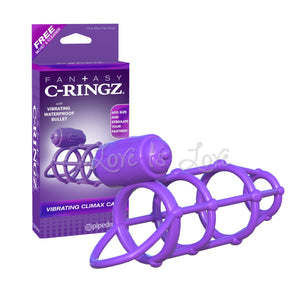Fantasy C-Ringz Vibrating Climax Cage (Newly Replenished on Dec 18) Cock Rings - Vibrating Cock Rings Pipedream Products