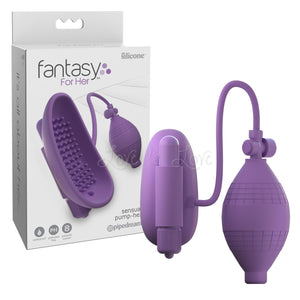 Fantasy For Her Sensual Pump-Her Purple (Newly Replenished) For Her - Clitoral & Vaginal Pumps Pipedream Products