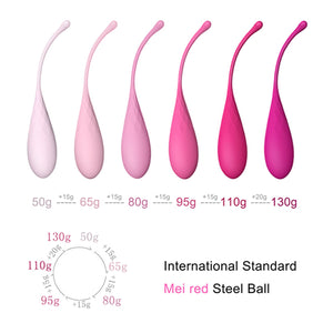 Feelztoys FemmeFit Pelvic Muscle Training Set 6 pcs For Her - Kegel & Pelvic Exerciser Feelztoys