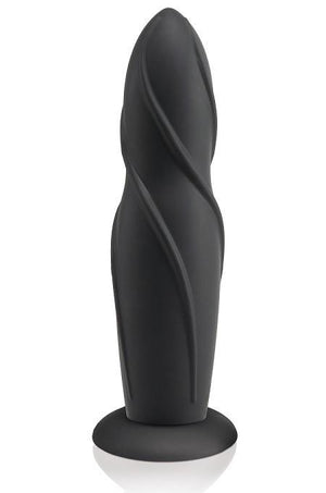 Fetish Fantasy Elite 8 Inch Dildo - Spiral Strap-Ons & Harnesses - Strap-On Dildos Pipedream Products Black