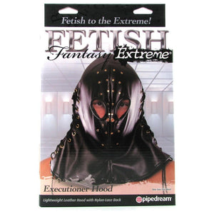 Fetish Fantasy Extreme Executioner Hood Bondage - Hoods & Muzzles Pipedream Products