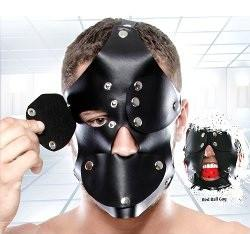 Fetish Fantasy Extreme Gag Blinder Mask Bondage - Blindfolds & Masks Pipedream Products