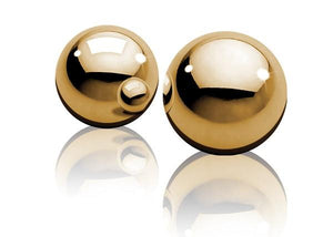Fetish Fantasy Gold Ben-Wa Balls For Her - Kegel & Pelvic Exerciser Pipedream Products