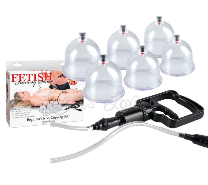 Fetish Fantasy Series Beginner's 6pc. Cupping Set