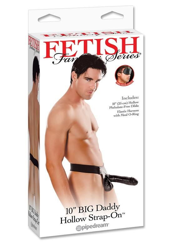 Fetish Fantasy Series Big Daddy Hollow 10 Inch Strap-On [Clearance]