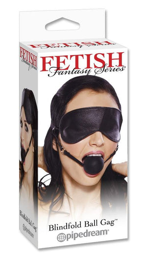 Fetish Fantasy Series Blindfold Ball Gag Bondage - Blindfolds & Masks Pipedream Products