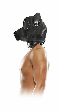 Fetish Fantasy Series Doggy Hood And Leash Bondage - Hoods & Muzzles Pipedream Products