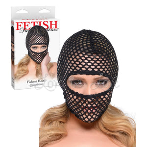 Fetish Fantasy Series Fishnet Hood Bondage - Hoods & Muzzles Pipedream Products