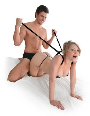 Fetish Fantasy Series Giddy Up Harness For Us - Sexual Positioning Pipedream Products