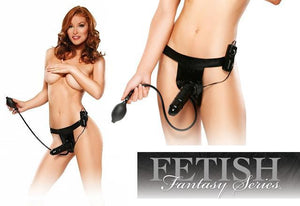 Fetish Fantasy Series Inflatable Vibrating Strap On Strap-Ons & Harnesses - Vibrating Strap-Ons Pipedream Products