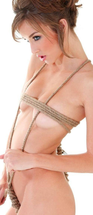 Fetish Fantasy Series Jute Bondage Rope (Retail Popular Jute Rope) Bondage - Ropes & Tapes Pipedream Products