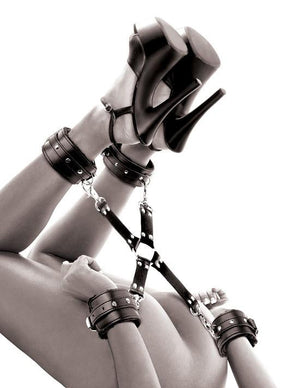 Fetish Fantasy Series Limited Edition Cumfy Hogtie Bondage - Ankle & Wrist Restraints Pipedream Products