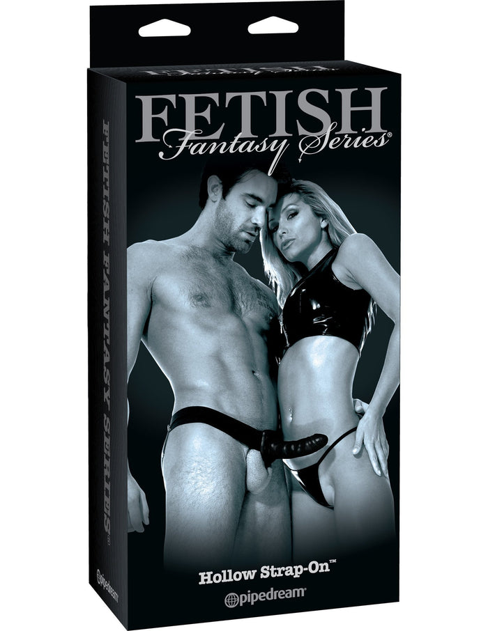 Fetish Fantasy Series Limited Edition Hollow Strap-On 6 Inch Black