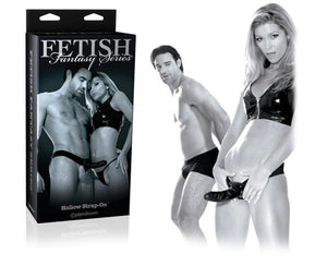 Fetish Fantasy Series Limited Edition Hollow Strap-On 6 Inch Black (For Him Or Her)(Best Seller) Strap-Ons & Harnesses - Hollow Strap-Ons Pipedream Products