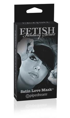 Fetish Fantasy Series Limited Edition Satin Love Mask Bondage - Blindfolds & Masks Pipedream Products