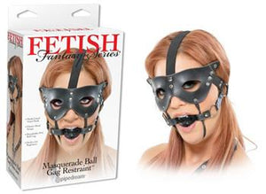 Fetish Fantasy Series Masquerade Mask And Ball Gag Restraint Bondage - Ball & Bit Gags Pipedream Products