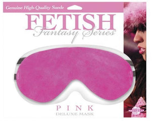 Fetish Fantasy Series Pink Deluxe Mask Bondage - Blindfolds & Masks Pipedream Products