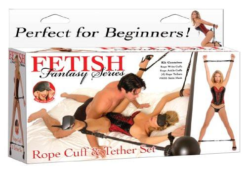 Fetish Fantasy Series Rope Cuff and Tether Set