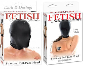 Fetish Fantasy Series Spandex Full Face Hood Bondage - Hoods & Muzzles Pipedream Products