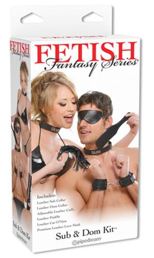 Fetish Fantasy Series Sub And Dom Kit ( Retail Popular Bondage Kit ) Bondage - Bondage & Restraint Kits Pipedream Products