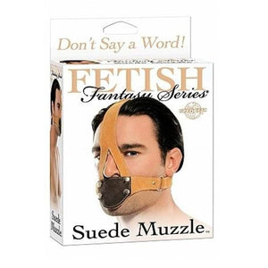 Fetish Fantasy Series Suede Muzzle Bondage - Hoods & Muzzles Pipedream Products