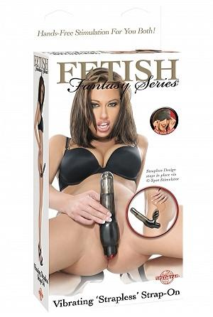 Fetish Fantasy Series Vibrating Strapless Strap-On Strap-Ons & Harnesses - Vibrating Strap-Ons Pipedream Products