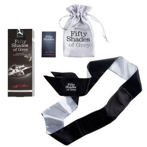 Fifty Shades Of Grey All Mine Deluxe Blackout Blindfold Bondage - Fifty Shades Of Grey Fifty Shades Of Grey