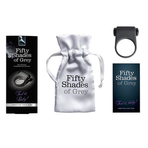 Fifty Shades of Grey Feel it Baby Vibrating Cock Ring ( Newly Replenished on May 19) Bondage - Fifty Shades Of Grey Fifty Shades Of Grey