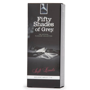 Fifty Shades Of Grey Soft Limits Deluxe Wrist Tie Bondage - Fifty Shades Of Grey Fifty Shades Of Grey