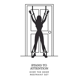 Fifty Shades of Grey Stand to Attention Over the Door Restraint Set Bondage - Fifty Shades Of Grey Fifty Shades Of Grey
