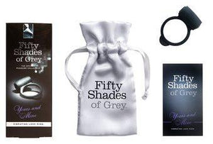 Fifty Shades Of Grey Yours And Mine Vibrating Silicone Love Ring Cock Rings - Vibrating Cock Rings Fifty Shades Of Grey