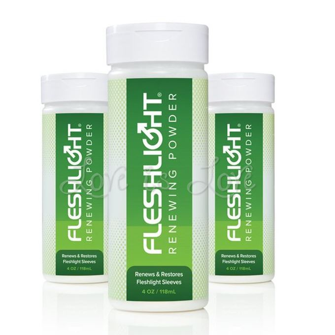 Fleshlight Renewing Powder 118 ml 4oz (Newly Restocked)