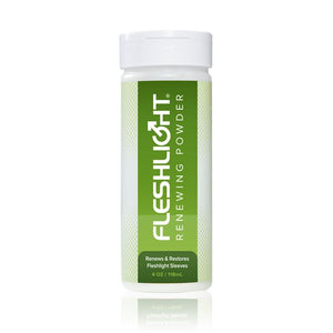 Fleshlight Renewing Powder 4oz Lubes & Toy Cleaners - Toy Care Fleshlight
