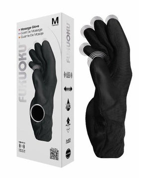 Fukuoku Five Finger Massage Glove-Right Hand Vibrators - Finger & Tongue DeeVa