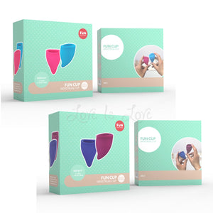 Fun Factory Fun Cup Size A Or Size B For Her - Menstrual Cups Fun Factory