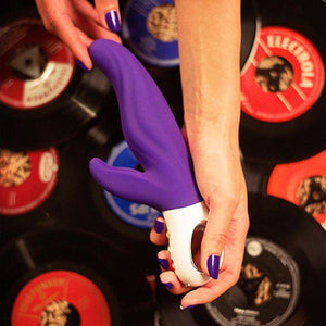 Fun Factory Lady Bi Rabbit Vibrator India Red or Violet or Ultramarine (Newly Replenished Color) Award-Winning & Famous - Fun Factory Fun Factory