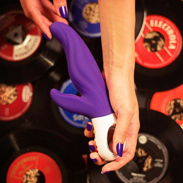 Fun Factory Lady Bi Rabbit Vibrator India Red or Violet or Ultramarine (Newly Replenished Color)