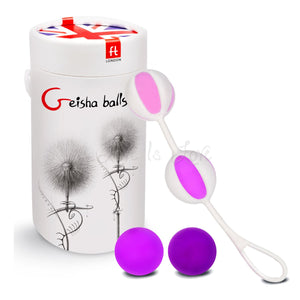 Fun Toys Geisha Balls 2 Pink For Her - Kegel & Pelvic Exerciser Fun Toys