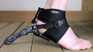 Heeldo Strap-On Harness For Foot Strap-Ons & Harnesses Heeldo For Her (She Size 4-8) Black