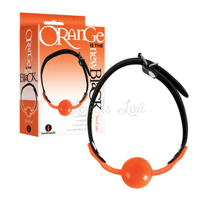 Icon Brands Orange Is The New Black SiliGag Ball Gag Bondage - Ball & Bit Gags Icon Brands
